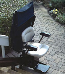 Outdoor Electra-Ride Elite Stairlift